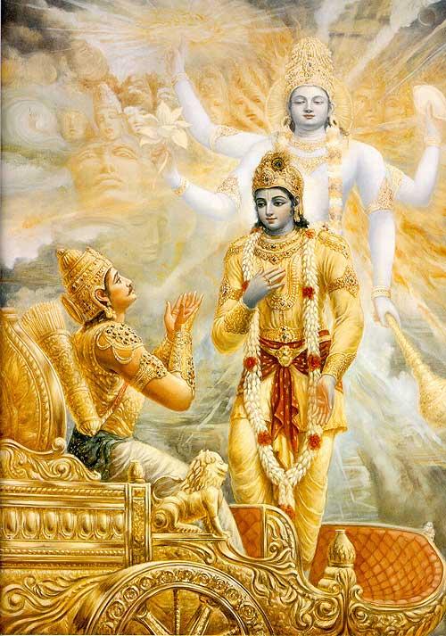 Bhagavad-Gita capítulo 18: Liberación a través de la renuncia