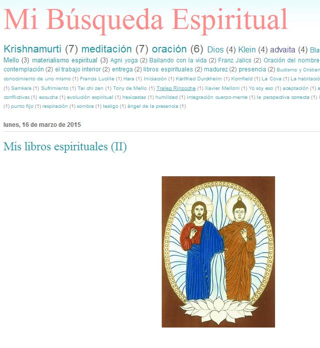 Mi búsqueda espiritual